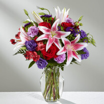 The Stunning Beauty Bouquet by FTD - VASE INCLUDED
